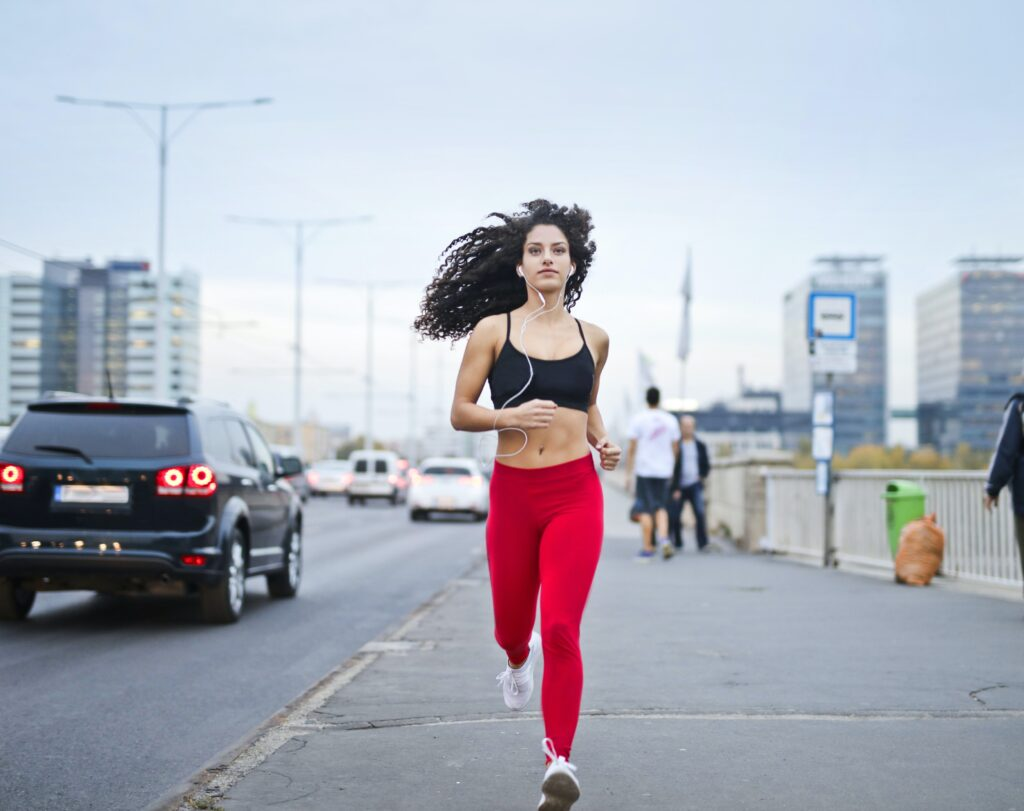 Jogging is one of an example of anaerobic metabolism
