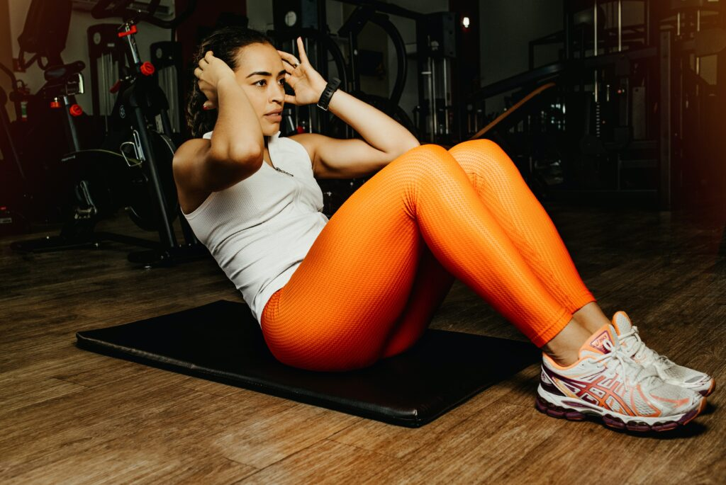 how many calories does 100 sit-ups burn
